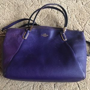 Coach Small Kelsey Crossbody Purple